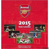 Kalendář 2015 stolní - FC Arsenal (160x175)