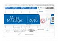 Kalendář stolní 2016 - Maximanager modrý