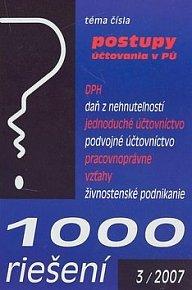 1000 riešení 3/2007