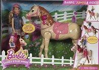 Barbie šampiónka s koněm