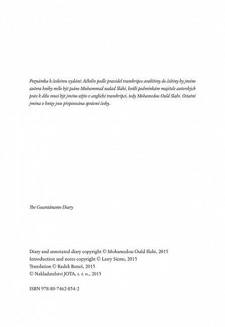 Náhled Deník z Guantánama