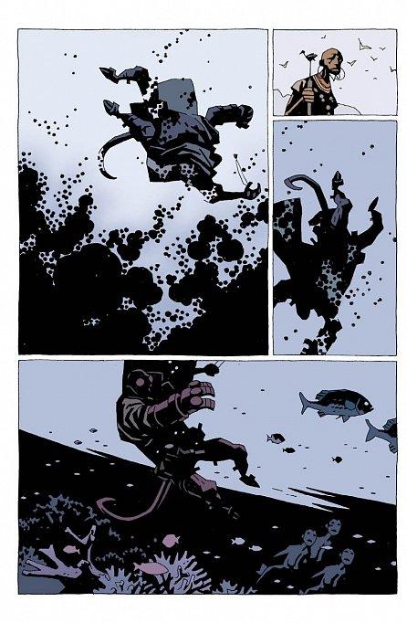 Náhled Hellboy 6 - Podivná místa - váz.