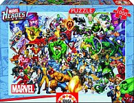 Puzzle Hrdinové Marvel 1000 dílků