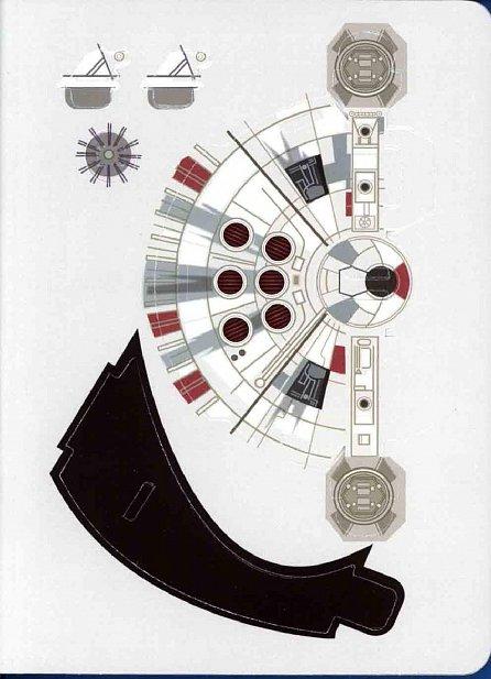 Náhled Star Wars - Pašerácká loď - Kniha s modelem a hádankami