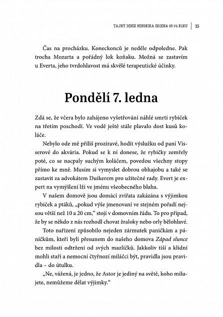 Náhled Tajný deník Hendrika Groena