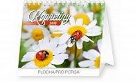 Kalendář stolní 2016 - Kopretiny s citáty Praktik,  16,5 x 13 cm