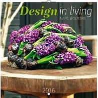 Kalendář nástěnný 2016 - Design in Living - Marc Wouters, poznámkový  30 x 30 cm