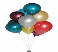 Balonek koule metalíza malá 26/85 cm 20009