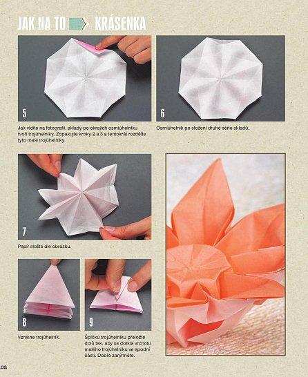 Náhled Origami květiny - 23 nádherných květů z papíru