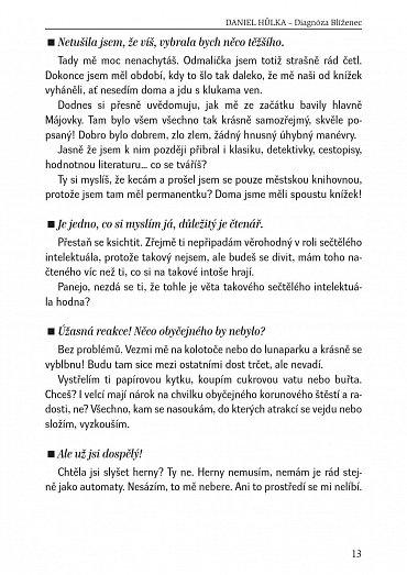 Náhled Daniel Hůlka: Diagnóza Blíženec