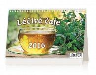 Kalendář stolní 2016 - Léčivé čaje