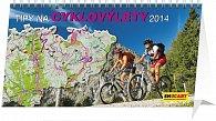 Kalendář 2014 - Tipy na cyklovýlety - stolní