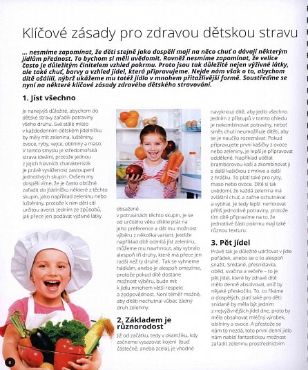 Náhled Kouzelná kuchařka pro děti