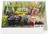 Kalendář stolní 2018 - Léčivé bylinky