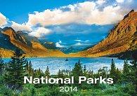 Kalendář 2014 - National Parks - nástěnný 485x340