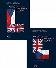 Balíček 2 ks Anglicko-český, česko-anglický právnický slovník