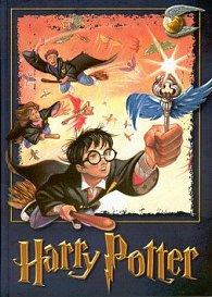Harry Potter zápisník A5 čtver