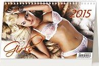 Kalendář stolní 2015 - Girls