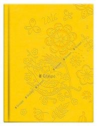 Diář 2016 Crazy - Flora žlutý