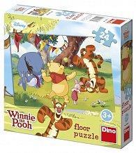 Floor puzzle 24 dílků Medvídek Pú