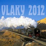 Vlaky - nástěnný kalendář 2012