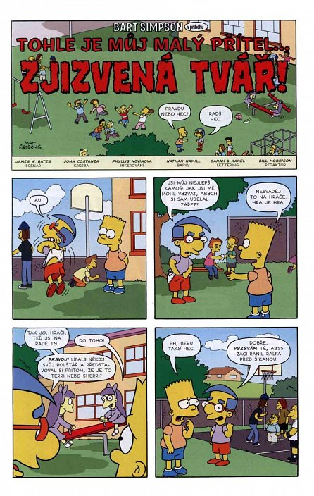 Náhled Simpsonovi - Bart Simpson 02/2017 - Sestřin sok