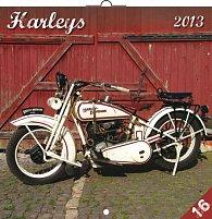 Kalendář 2013 poznámkový - Harleys, 30 x 60 cm