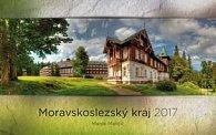 Moravskoslezský kraj 2017 - nástěnný kalendář