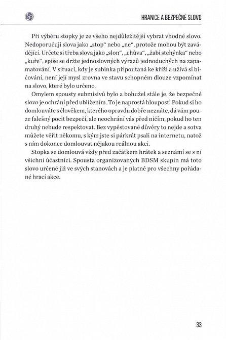 Náhled Základy BDSM pro začátečníky - Příručka pro dominanty a submisivy začínající objevovat tento životní styl