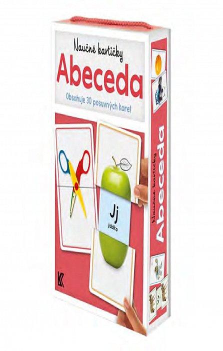 Náhled Naučné kartičky: Abeceda (Obsahuje 30 posuvných karet)