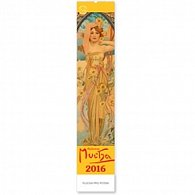 Kalendář 2016 - Alfons Mucha 10,5 x 48 cm