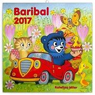 Kalendář poznámkový 2017 - Baribal