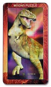 32 d. 3D Magnetické puzzle T-Rex