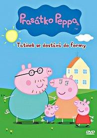 Prasátko Peppa 3 - Tatínek se dostává do formy - DVD - papírová pošetka