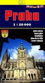 Praha 1:20 000 plán města