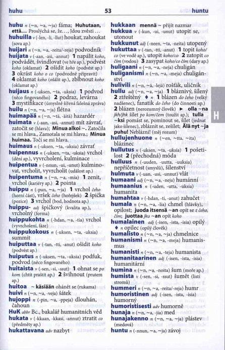 Náhled Finsko-český, česko-finský šikovný slovník … nejen do školy