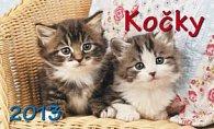 Kočky - stolní kalendář 2013