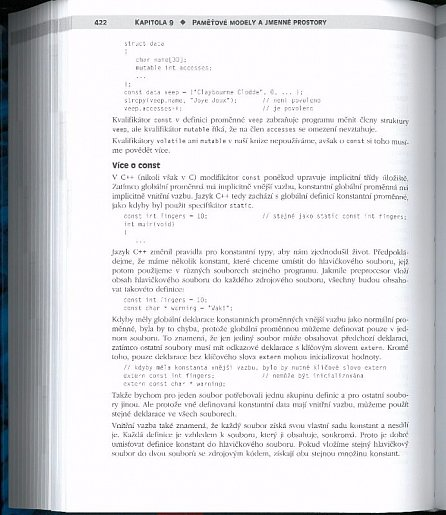 Náhled Mistrovství v C++ 4. aktualizované vydání