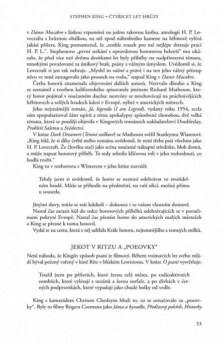 Náhled Stephen King - Čtyřicet let hrůzy, život a dílo krále hororu