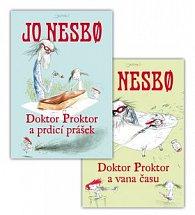 Balíček 2 ks Doktor Proktor a prdící prášek + Doktor Proktor a vana času