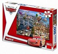 Auta 2: Letem světem - puzzle 500 dílků
