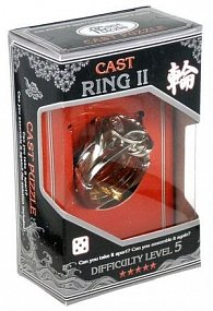 Hlavolam Hanayama Silver - Ring II