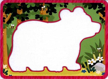Náhled Zvířata - Obkreslovací karty