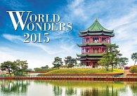Kalendář nástěnný 2015 - World Wonders