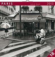 Kalendář 2013 poznámkový - Paříž Jakub Kasl, 30 x 60 cm