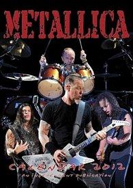 Kalendář 2012 - Metallica