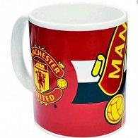 Hrnek keramický - FC Manchester United/červený