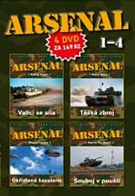 DVD set - Arsenal 1.- 4.