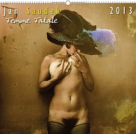 Kalendář 2013 nástěnný - Jan Saudek Femme Fatale, 48 x 46 cm