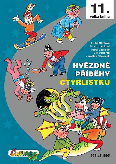 Náhled Hvězdné příběhy Čtyřlístku 1993-1995 - 11. velká kniha